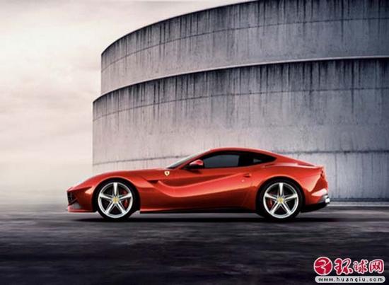 法拉利新超跑名 f12 最高时速340公里