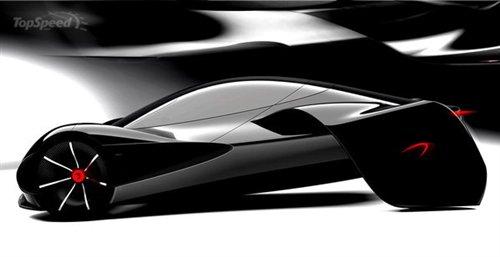 外观 抽象 化设计 迈凯轮jetset小型超跑 时尚中高清图片
