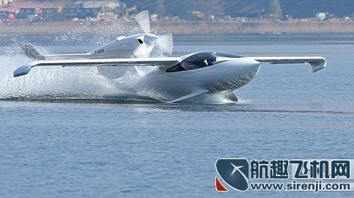法国航空公司推出三栖飞机