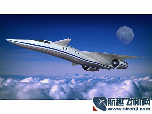 具有下垂式机头的协和式超音速飞机拥有两倍于音速的