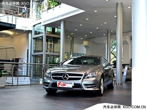 进口奔驰cls350 天津港口现车可享低折高清图片
