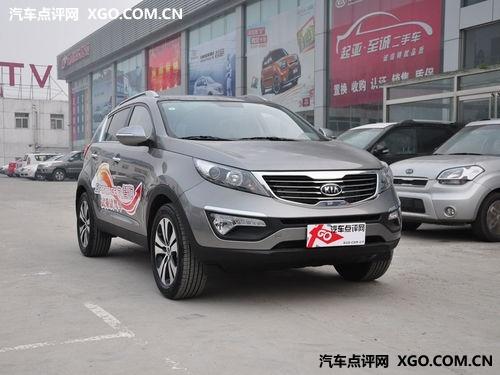 东风悦达起亚智跑外观时尚大气,起亚将nu发动机引入2012款高清图片
