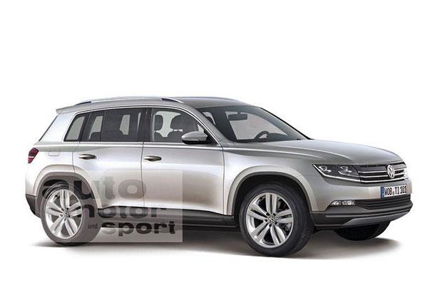 [大众SUV概念车假想图]-全明星阵容 2013北美车展新车看点预览高清图片