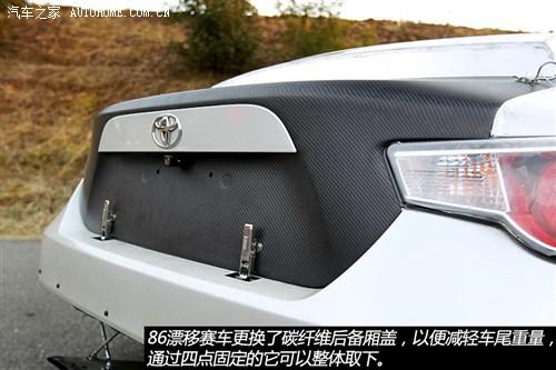 装750马力v8发动机 丰田86漂移赛车解析