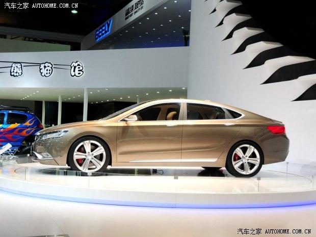 吉利发布全新KC概念车