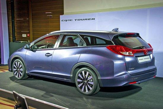 本田思域旅行车-2013法兰克福车展30余款重磅新车全面预览