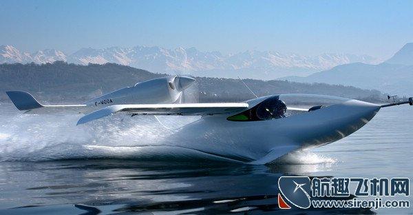 法国lisaairplanes开发的运动三栖私人飞机